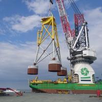 Pump technology installs wind turbine foundations