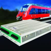 Low-profile railway inverters deliver 3-phase pure sine wave output voltage