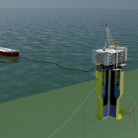 Floating platform granted US patent