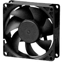 Design of system cooling using DC axial fans