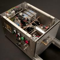 Precision gas control for experimental combustion rig