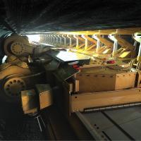 Mining hard rock with longwall efficiency
