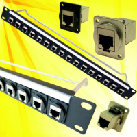 Cat 6A connector added to 24mm panel range