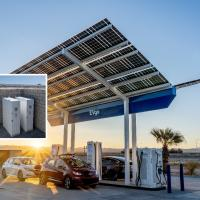 Battery storage to accelerate fast charging