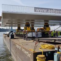 How to move a bridge deck