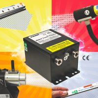Choice of input voltage from Exair