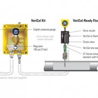 How to calibrate a flow meter without removing it