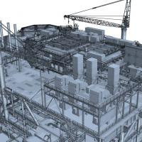 High-fidelity CFD modelling of offshore platform