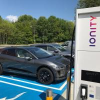 Britain welcomes first Ionity fast charger