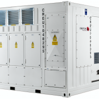 Step-up containerised transformer