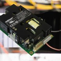 Ultra-compact, high efficiency 125W AC-DC module