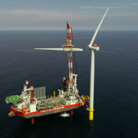 Final turbine installed at Hornsea One