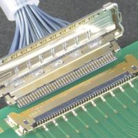 Connector has full 360-degree EMI shielding