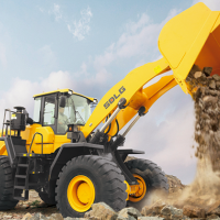 SDLG launches its biggest wheel loader