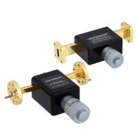New waveguide phase shifters for K to W bands