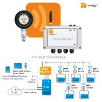 Wireless pressure and temperature sensors