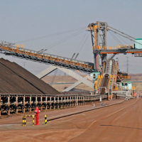 Stockyard management for mines and power plants