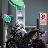 Electric motorcycle development speeds up