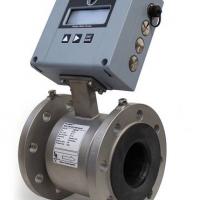 Battery mag flow meter