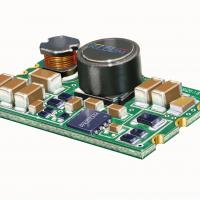 Switching regulator supplies microprocessors from a 4-20mA loop