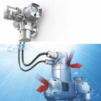 Actuator for underwater use
