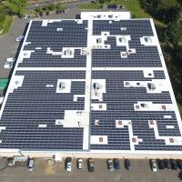 Giant solar grid completed in New York