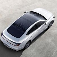 Hyundai's latest features a solar roof charging system