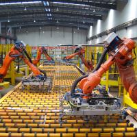 Industrial robots and the labour market