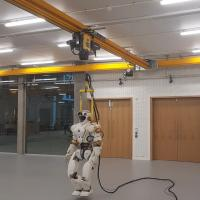 Hoist goes live for robot's stumble protection