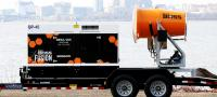 Update to mobile dust suppression machines
