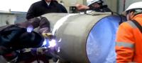 Weld purging pipes