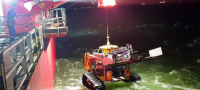 Ordinance clearing ROV takes to the North sea